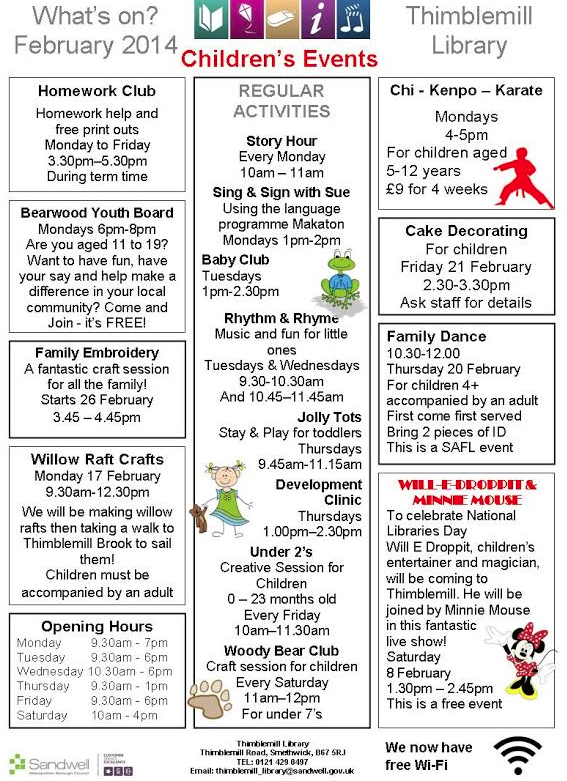 What's on in Bearwood (2/2)