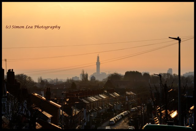 City Centre Sunrise from Bearwood FINAL