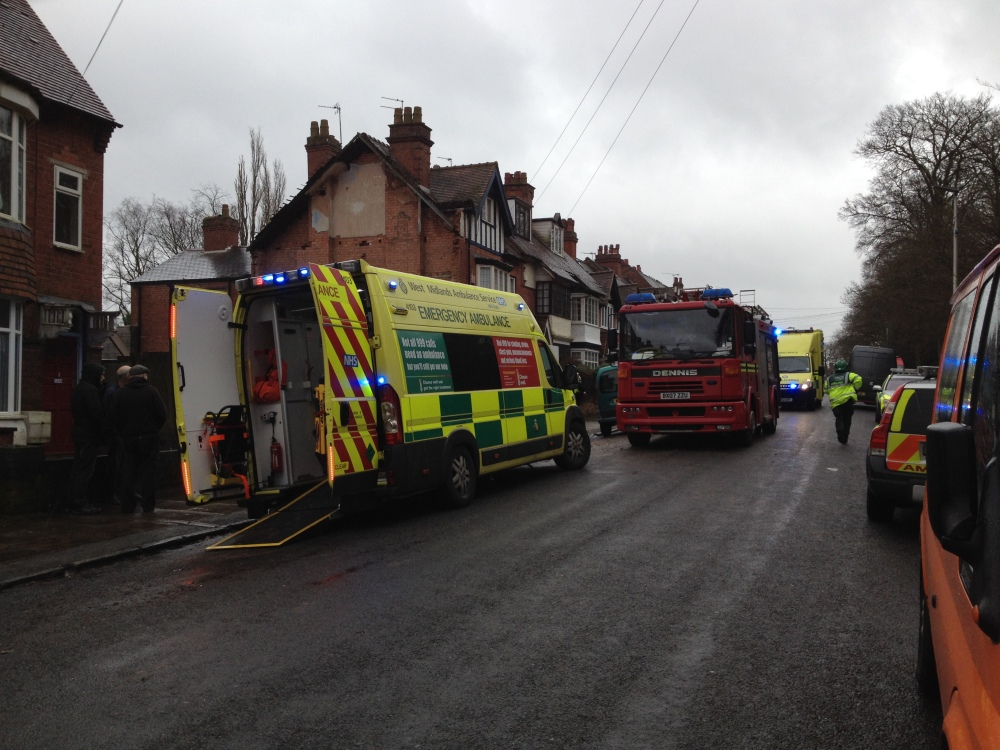 Major incident in Barclay Road
