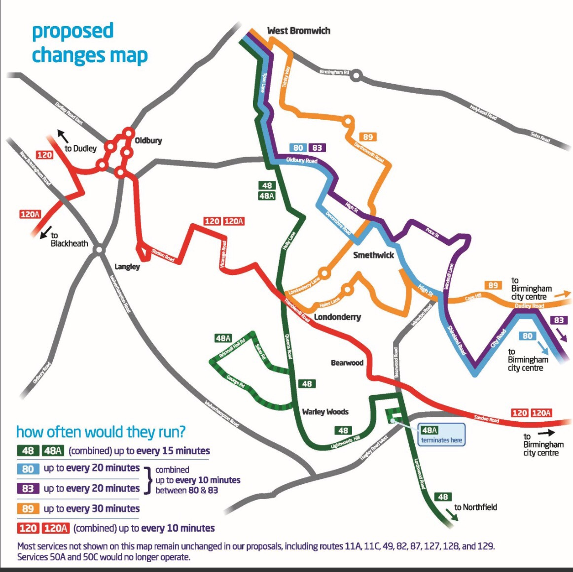 Consultation on changes to bus routes | The Bearwood Blog